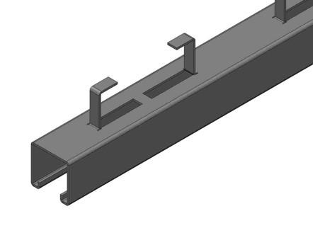 BS1000C1 C型钢预埋件