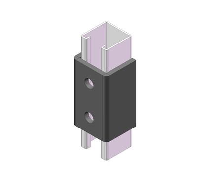 B1376 专用两孔连接片