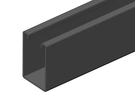 BS5500 不冲孔C型钢