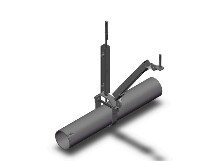 单管-侧向抗震支架