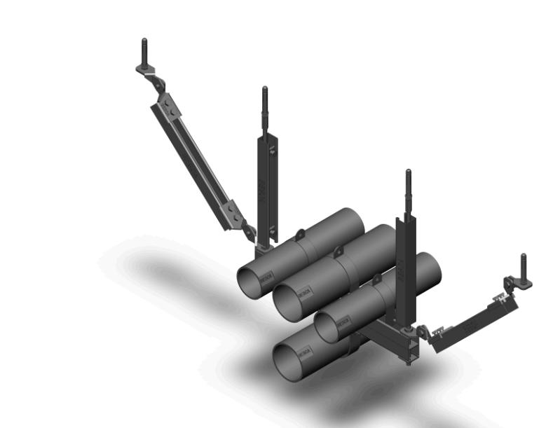 多管侧向抗震支架