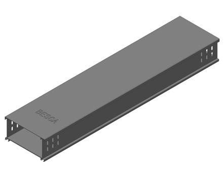 BT8 铝合金槽式桥架直通
