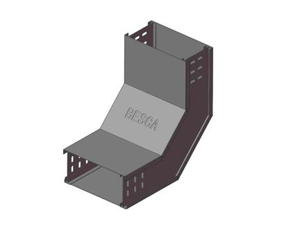 BT8-IR 铝合金槽式桥架内爬升