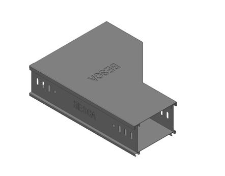 BT8-RR 铝合金槽式桥架右变径
