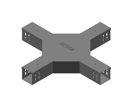 BT1-C 槽式桥架四通