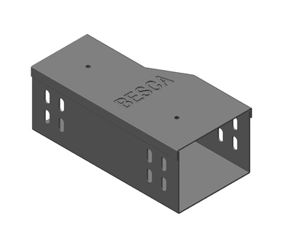 BT1-LR 槽式桥架左变径