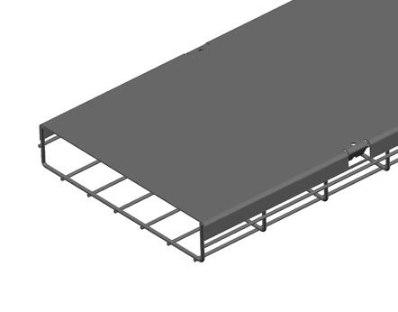 BM-C网格桥架盖板