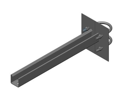 UFSB U型螺栓托臂