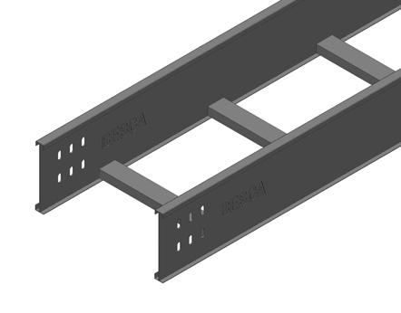 N20CA/BL4A 铝合金梯式桥架